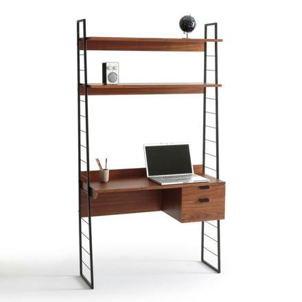bureau étagère