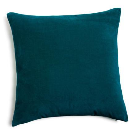 coussin bleu