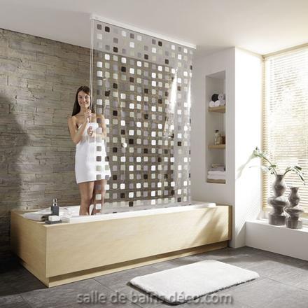 rideau de baignoire