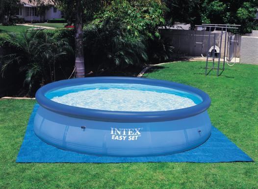 bache sol piscine