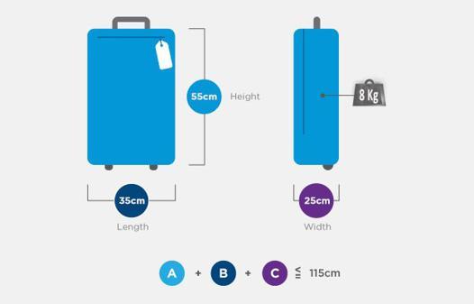 bagage 158 cm