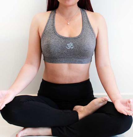 brassiere yoga