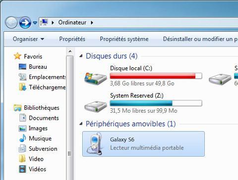 comment transférer une photo d un portable sur un ordinateur