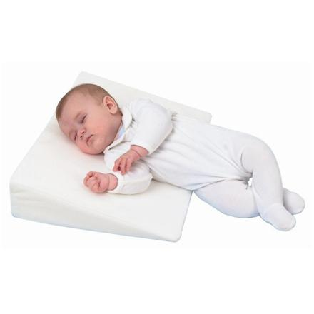 coussin incliné bébé