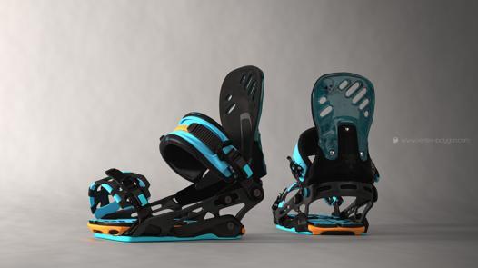 fixation snowboard