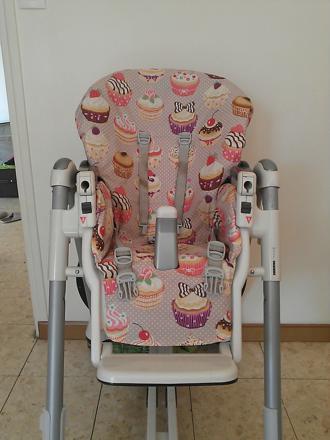 habillage chaise haute