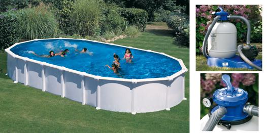 piscine acier hors sol
