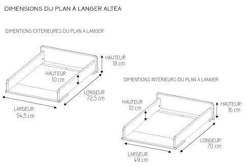 plan table à langer