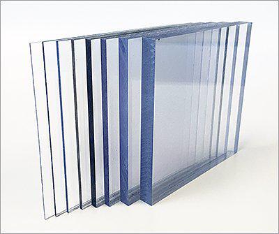 Plaque alv/éolaire de polycarbonate Lexan Thermoclear 1500/x 700/x 4,5/mm Protection UV des deux c/ôt/és