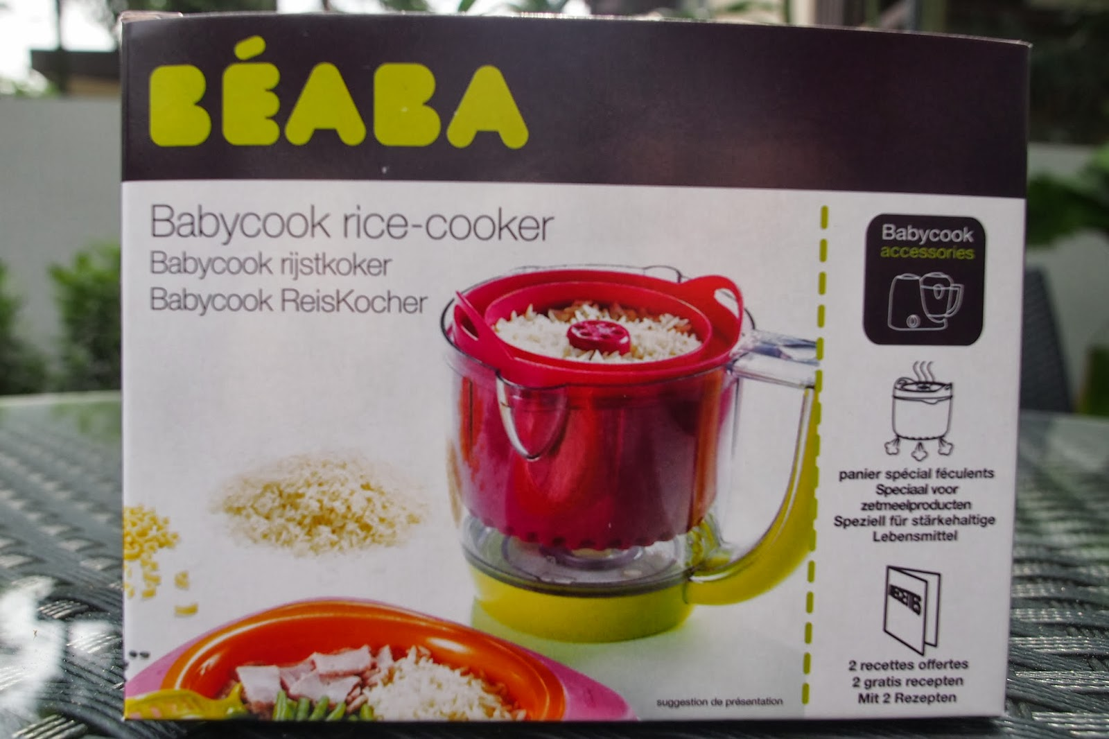 rice cooker babycook