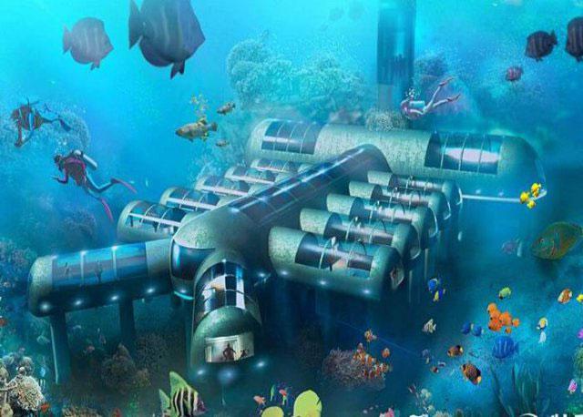 station sous marine