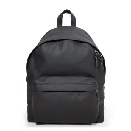eastpak padded pak r black leather