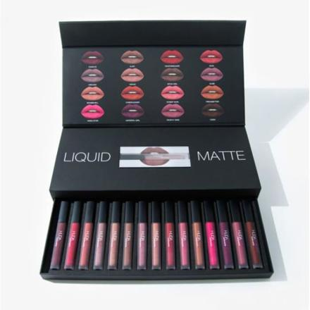 huda beauty lipstick coffret