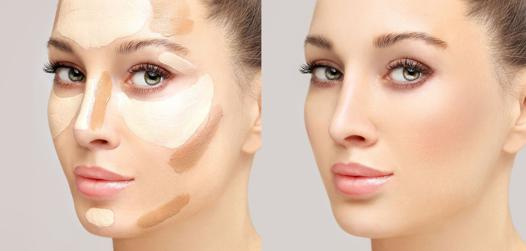 maquillage contouring