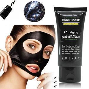 masque noir charbon