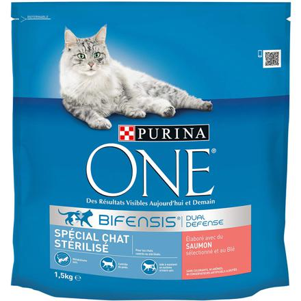purina one chat sterilisé