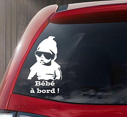 bebe a bord pour voiture
